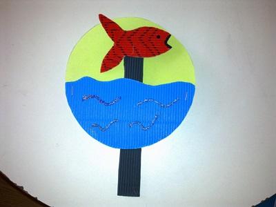 Okul öncesi dünyam kırmızı balık balık etkinliği okul öncesi