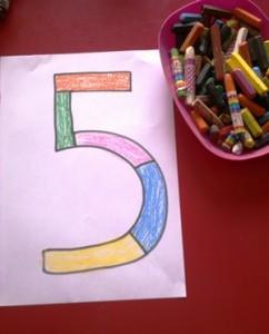 okul-öncesi-dünyam-beş-rakamı