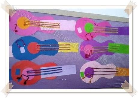 okul-öncesi-dünyam-gitar-sanat-etkinlik-örnekleri