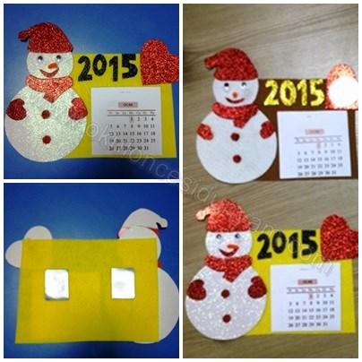 okul-öncesi-dünyam-yeni-yıl-kartı