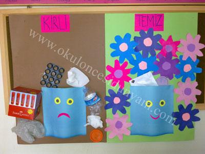 okul-öncesi-kirli-temiz-kavramı