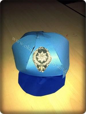 Anasınıfı Polis şapkası Okul öncesi Dünyam