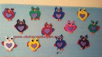 okul öncesi baykuş etkinlik örnekleri