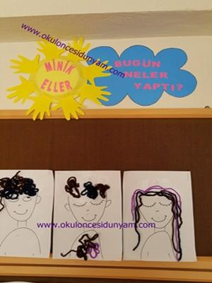 okul öncesi pano örnekleri