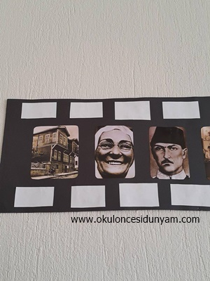okul öncesi Atatürk köşesi örnekleri