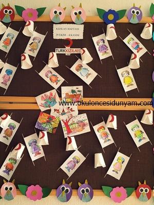 Kizilay Haftasi Okul Oncesi Dunyam