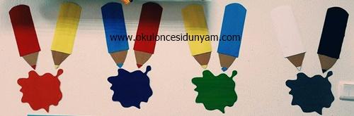 okul öncesi renk grafik örnekleri