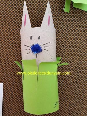 okul öncesi rulodan tavşan etkiliği
