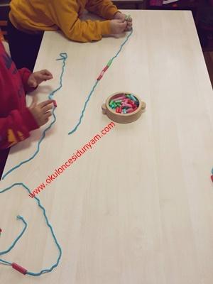 okul öncesi pipet etkinlik örnekle