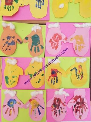 okul öncesi eldiven etkinlik örnekleri