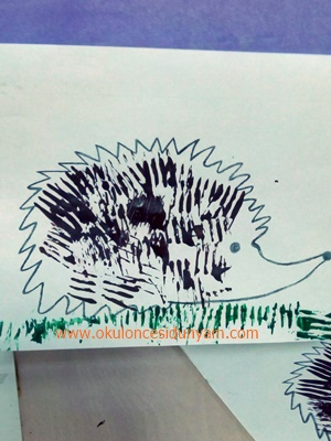 okul öncesi çatal baskısı örnekleri