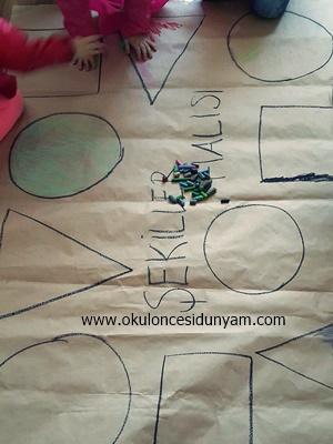 okul öncesi boyama etkinlikleri