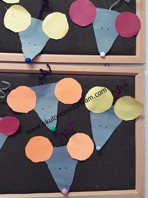 okul öncesi üçgen ve daire kavramı