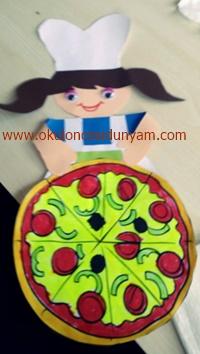 okul öncesi pizza etkinlik örnekleri