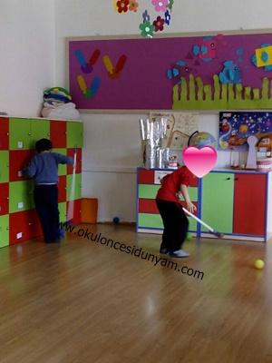 okul öncesi top ile oyun örnekleri