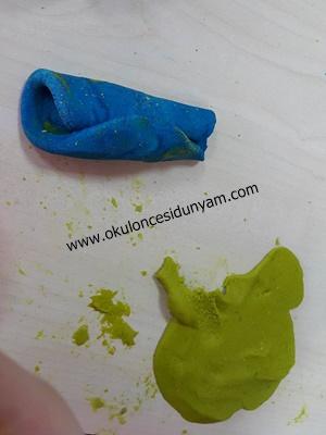 okul öncesi yeşil renk kavramı