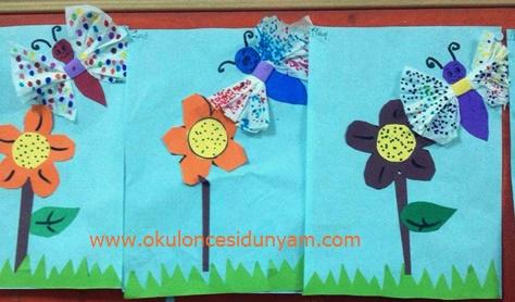okul öncesi çiçek etkinlik örnekleri