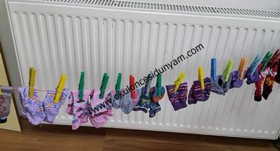 okul öncesi çamaşır yıkama etkinliği