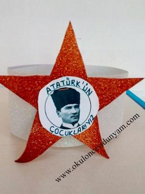 okul öncesi Atatürk etkinlikleri