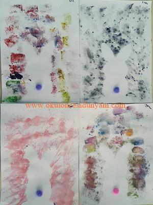 okul öncesi sulu boya baskı etkinlik örnekleri