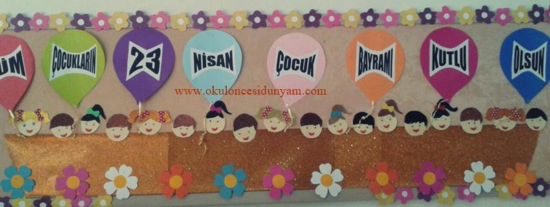 Hos Geldin 23 Nisan Okul Oncesi Dunyam