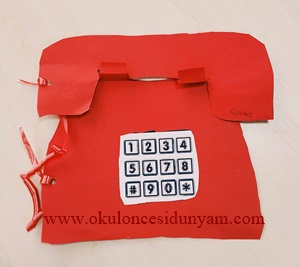 okul öncesi telefon etkinliği