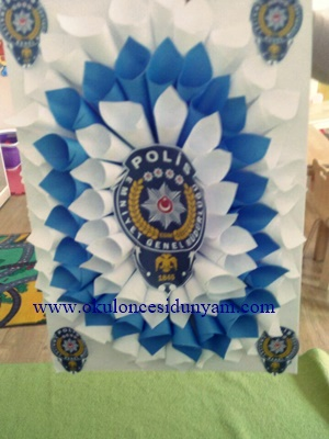 Polis Haftası Okul öncesi Dünyam