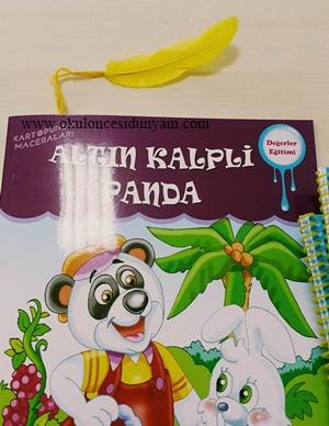 okul öncesi kitap ayracı etkinliği