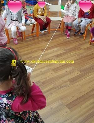 okul öncesi bardaktan telefon yapımı