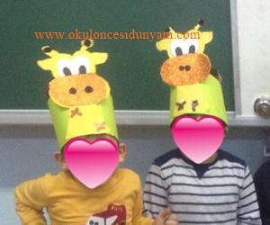 okul öncesi zürafa etkinlik örnekleri