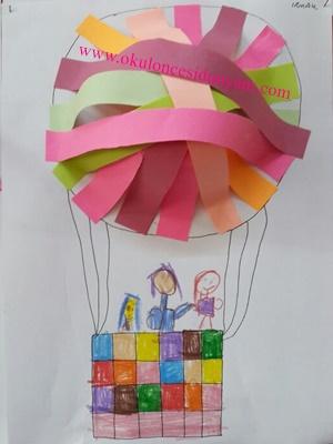 okul öncesi şeritlerle etkinlik örnekleri