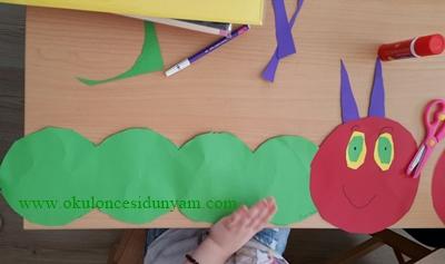 okul öncesi kelebek projesi