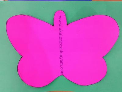 okul öncesi kelebeğin oluşumu kitabı