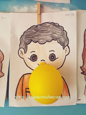 Balon Sisiren Cocuklar Okul Oncesi Dunyam