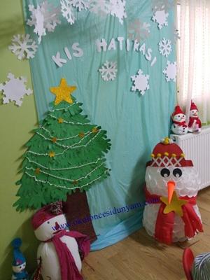 okul öncesi kış etkinlikleri