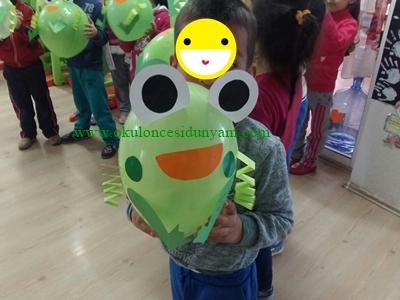 okul öncesi balon etkinlikleri