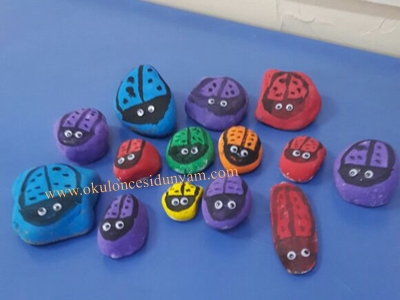 okul öncesi parmak boya etkinlikleri