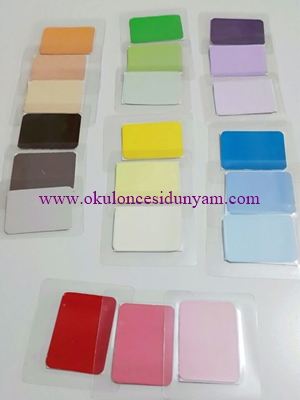 okul öncesi montessori renk tableti