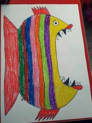 okul öncesi sanat etkinliği
