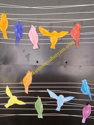 okul öncesi boya etkinlikleri