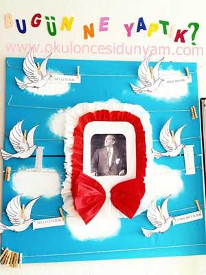 Okul Öncesi Atatürk'ün İlkeleri